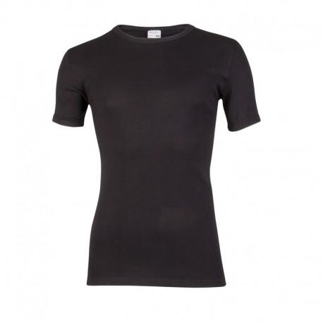 Heren T-shirt korte mouw M3000. Zwart.