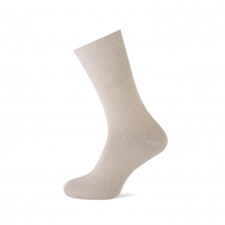 katoenen herensok, zonder elastiek, voor gevoelige benen