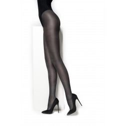 Panty MM pied de poule, Black. art.nr.87362