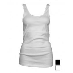 Dames hemd Madonna. Wit.