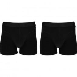 BIO COTTON Boxershorts 2-pack. Zwart