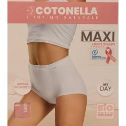 Cotonella slip maxi medio controllo wit. AD617