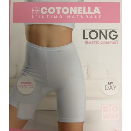 Cotonella Short Long, Wit. 8018