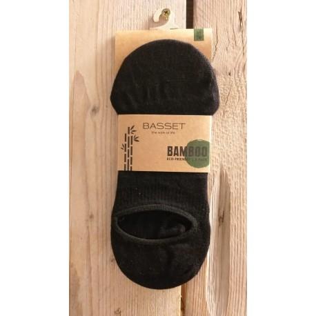 Bamboo sneaker 2-pack Zwart, 31000