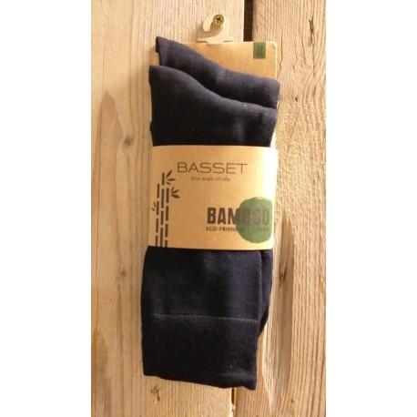 Bamboo sok 2-pack Marine, 31020