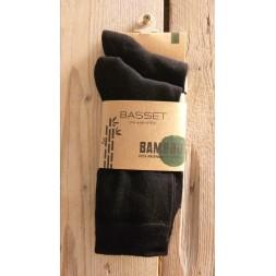 Bamboo sok 2-pack Zwart, 31020