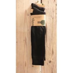 Bamboo kniekous 2-pack Zwart, 31030
